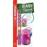 STABILO Bleistift EASYgraph Start Set Linkshänder pink 4-tlg.