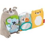 Mattel Fisher-Price Babys weiches Kuschelbuch Baby-Spielzeug Baby-Buch Fühl-Buch