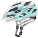 Uvex Fahrradhelm Onyx Cc White Teal Mat