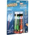 Splash Toys Flugspiel Flying Rocket Raketenschleuder mit Leuchteffekt 8-tlg.