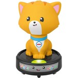 Mattel Fisher-Price Krabbel-mir-nach Saugroboter-Katze Krabbel-Spielzeug Lauflernhilfe