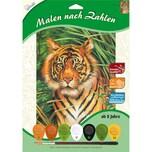 Mammut Spiel und Geschenk Malen nach Zahlen Tiger