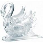 Crystal Puzzle - Schwan Transparent