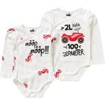 Bobby Car Baby Wickelbodys Doppelpack Organic Cotton