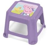 Kinder Hocker aus Kunststoff Peppa Pig rosa 27 x 27 x 21 cm