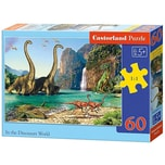 Castorland Puzzle 60 Teile in Der Welt Der Dinosaurier