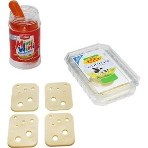 Chr. Tanner Spiellebensmittel Set Frico Käse und Meica Würstchen