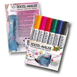 Folia Textilmaler 6 Farben