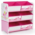 Worlds Apart 6-Boxen-Regal Schmetterling Patchwork