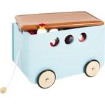 Pinolino Spielzeugkiste mit Rollen 'Jim' mint