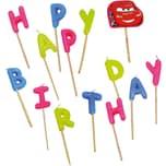 Procos Kerzenset Happy Birthday Cars 15-tlg.