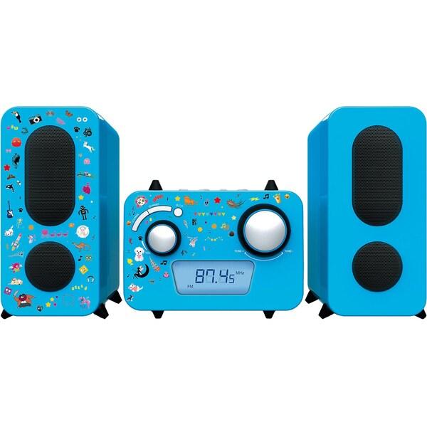 bigben Stereo Music Center MCD11 für Kinder blau