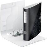 LEITZ Aktenordner Polyfoam 1107 Active WOW schwarz A4 180° Breite 6 cm