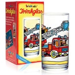 Lutz Mauder Verlag Trinkglas Feuerwehrmann Benny Brandmeister