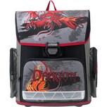 Komar Schulranzenset Compact Fire Dragon 4-tlg. Kollektion 2018