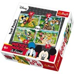 Trefl 4in1 Puzzle - 35485470 Teile - Micky Maus