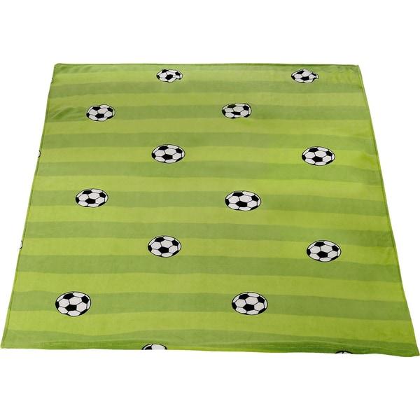 Powerkids Kuscheldecke Fußball 150 x 200 cm