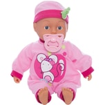 Bayer Babypuppe My First Baby 33 cm rosa mit 24 sounds