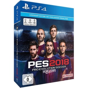 Ps4 Pes 2018 Legendary Edition