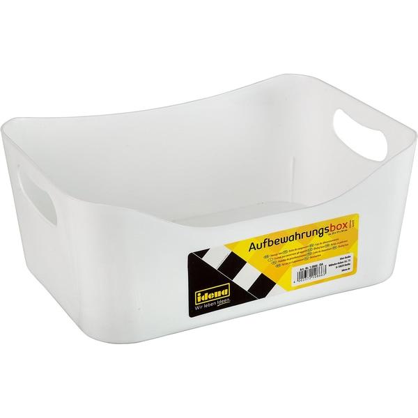 Idena Aufbewahrungs-Box Klein Weiß