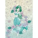 Komar Vlies Fototapete - Disney Jasmin Pale Flowers 200X280 Cm