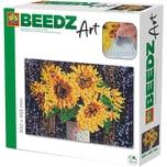 SES Creative Beedz Art - Bügelperlen Sonnenblumen 7.000 Perlen