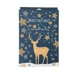 Kaiser Inspiration Back- Adventskalender zum selber füllen, Do-it-your-Self-Kalender, Geschenkidee für Backliebhaber, Verschenkidee, Muffinform mit 24 Ausstechformen
