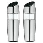 WMF 2-teilig Elektrische Salzmühle Pfeffermühle Elektromühlenset Keramik