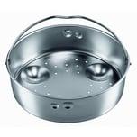 Silit Sicomatic Schnellkochtopf - Einsatz Dünsteinsatz gelocht für Ø 18 cm Edelstahl spülmaschinengeeignet