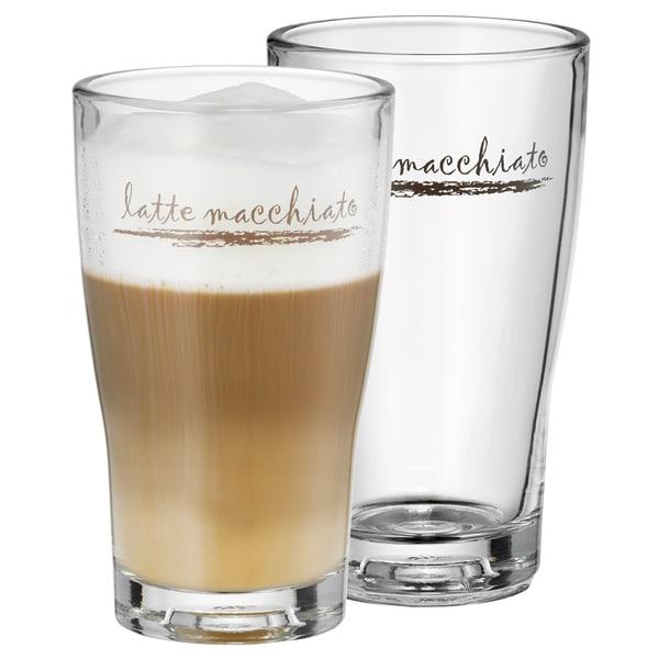 WMF Barista Latte Macchiato Gläser-Set, 2-teilig, 265ml, hitzebeständig