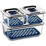 WMF Top Serve Frischhaltedosen-Set rechteckig 3-teilig