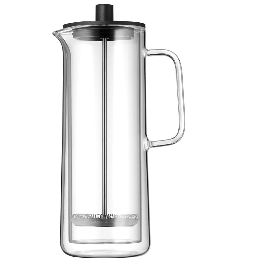 WMF Coffee Time French Press Kaffeebereiter Glas Cromargan Edelstahl spülmaschinengeeignet
