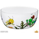 WMF Biene Maja Kindergeschirr Kinder-Müslischale Ø 13,8 cm, Porzellan, spülmaschinengeeignet, farb- und lebensmittelecht