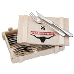 WMF Steakbesteck 12-teilig in Holzkiste