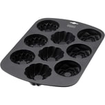 Kaiser Inspiration Muffinform für 9 Muffins 38 x 27 cm antihaftbeschichtet mit 3 Bundform-Designs