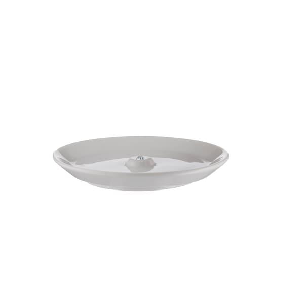 WMF Barista Unterteller/ Untertasse Ø 14,5 cm für Barista Tassen und Gläser, Latte Macchiato Glas, Kaffeeglas, Porzellan, spülmaschinengeeignet