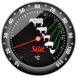 Silit Bratenthermometer analog Sensero Edelstahl rostfrei