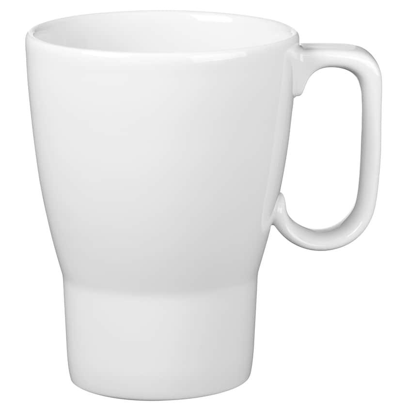 WMF Barista Kaffeebecher mit Henkel, 380 ml, Porzellan, spülmaschinengeeignet