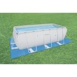 Bestway Pool-Bodenschutzfliesen-Set, á 50 x 50 cm, blau, 8 tlg.