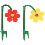 Neustanlo Tanzende Blume Rasensprinkler beweglich 2er Set