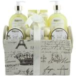 Brubaker Bade- und Dusch Set Vanille Rosen Minze Duft 12-teiliges Geschenkset in Vintage-Box