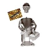 Brubaker Weinflaschenhalter Mechaniker Monteur Installateur Deko-Objekt Metall mit Grußkarte