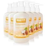 BRUBAKER Cosmetics Handwaschlotion Flüssigseife Kokosnuss im praktischen Spender 5 x 240 ml