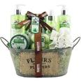 Brubaker Bade- und Dusch Set Aloe 11-teiliges Geschenkset in Vintage Wanne