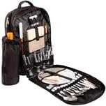 Brubaker Picknickrucksack für 4 Personen mit Kühltasche und abnehmbarer Flaschentasche