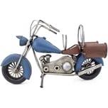 Brubaker Flaschenhalter Motorrad Metall Skulptur mit Geschenkkarte
