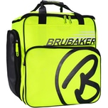 Brubaker Super Champion Skischuhtasche Helmtasche Rucksack mit Schuhfach Neon Gelb/Schwarz