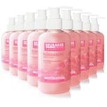 BRUBAKER Cosmetics Handwaschlotion Flüssigseife Kirschblüte im praktischen Spender 50 x 240 ml