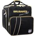 Brubaker Super Grenoble Skischuhtasche Helmtasche Rucksack mit Schuhfach Schwarz Gold