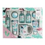 Brubaker Bade- und Duschset Kokosnuss Strand 8-teiliges Beauty Geschenkset mit Keramik-Becher